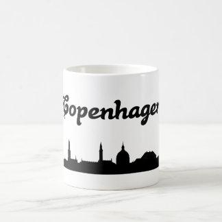 Taza del regalo de la señal de Copenhague