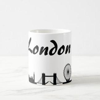 Taza del regalo de la señal de Londres, Inglaterra