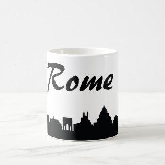 Taza del regalo de la señal de Roma, Italia