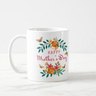 Taza del regalo del día de madre con palabras