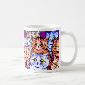 Taza del regalo del gato de la maravilla de Wain d