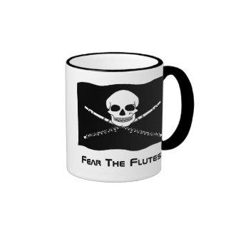 Taza del regalo del pirata de la flauta