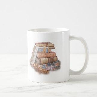 Taza del regalo del profesor de la biblioteca del