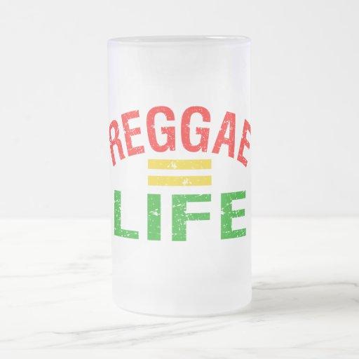 Taza del reggae - elija el estilo y el color