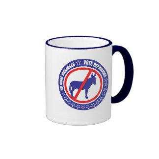 taza del republicano del voto