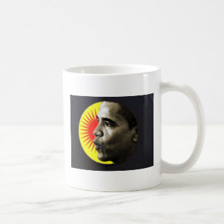Taza del resplandor solar de Obama