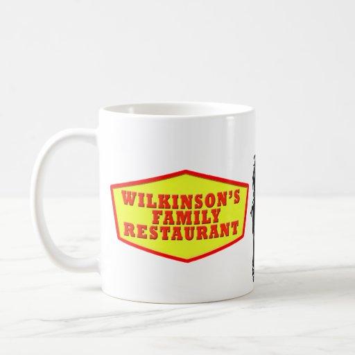 Taza del restaurante de la familia de Wilkinson