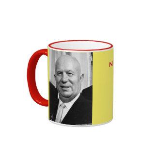 Taza del retrato de Kruschev*