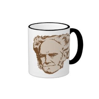 Taza del retrato de Schopenhauer
