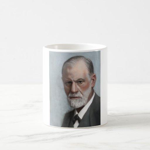 Taza del retrato de Sigmund Freud