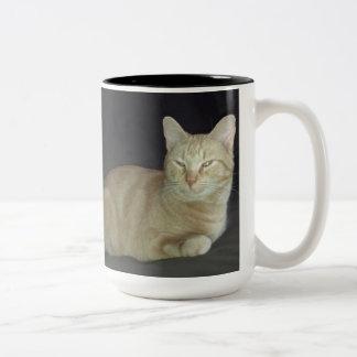 Taza del retrato del gato de Óscar