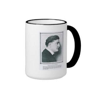 Taza del retrato del vintage de Francisco X.