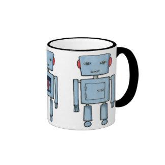 Taza del robot del juguete