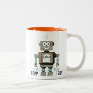Taza del robot del juguete de la señal sonora de B