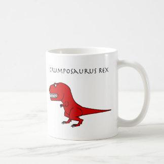 Taza del rojo de Grumposaurus Rex