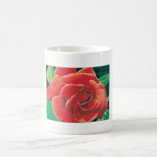 Taza del rosa rojo de Jacob Grimm