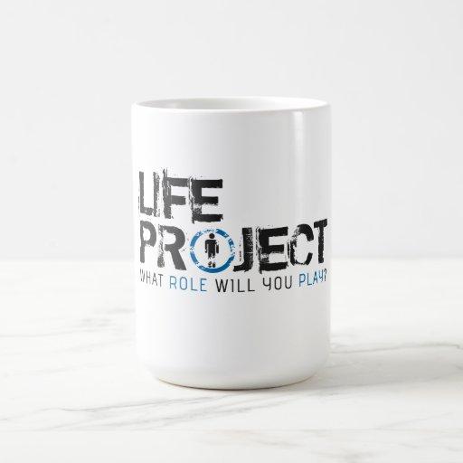 Taza del RPG del proyecto de la vida