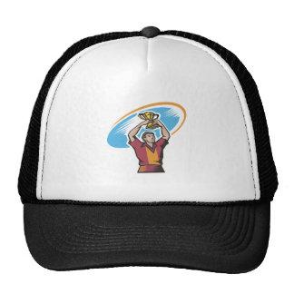 Taza del rugbi gorras