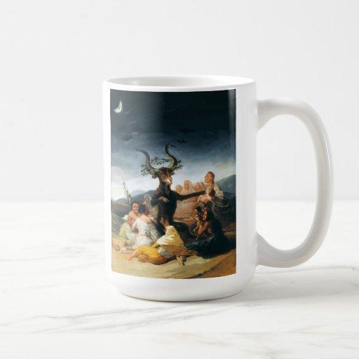 Taza del Sabat de las brujas de Goya