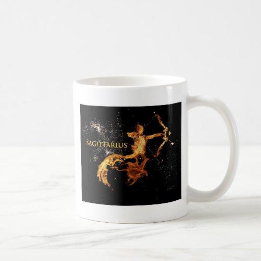 Taza del sagitario - símbolos del zodiaco