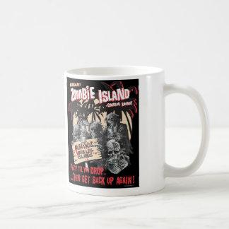 Taza del salón de cóctel de la isla del zombi