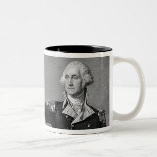 Taza del saludo de George Washington