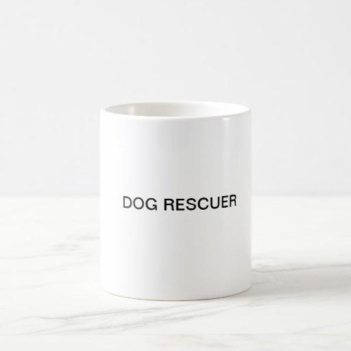 Taza del salvador del perro