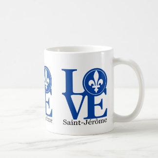 Taza del Santo-Jérôme 11oz del AMOR