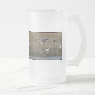 Taza del santuario de los Egrets/de las garzas