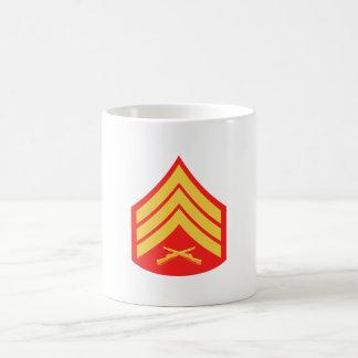 Taza del sargento café del USMC