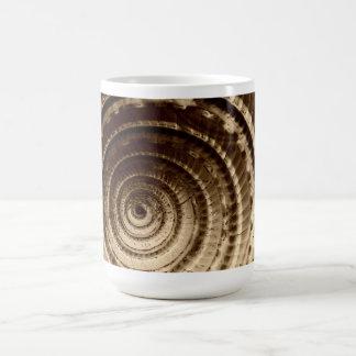 Taza del Seashell de la sepia