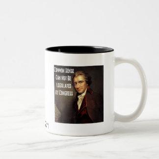 Taza del sentido común de Thomas Paine