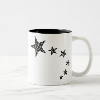 Taza del Shooting Stars del estilo del Al azar-Mos