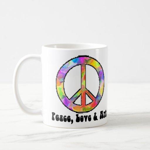 Taza del signo de la paz