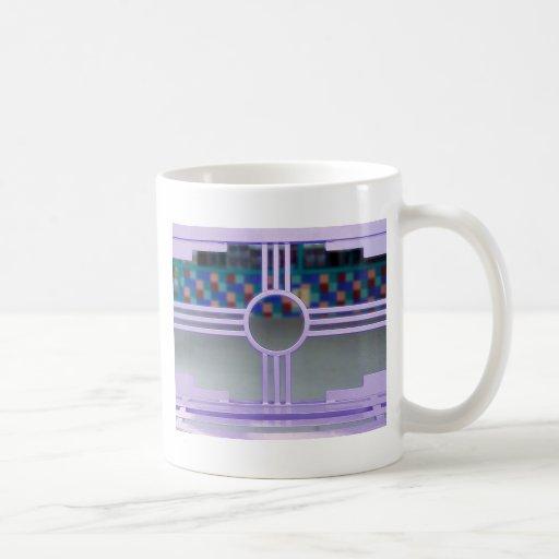 Taza del símbolo de New México Sun