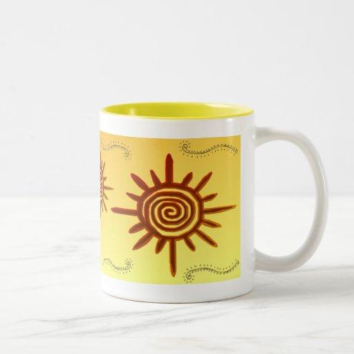 Taza del símbolo de Sun