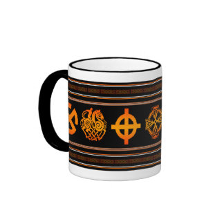 Taza del símbolo de Viking