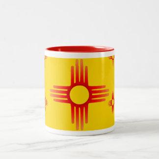 Taza del símbolo de Zia Sun