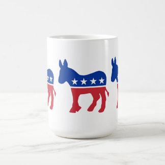 Taza del símbolo del fiesta Democratic