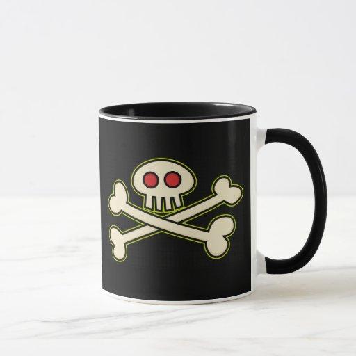 Taza del símbolo del pirata