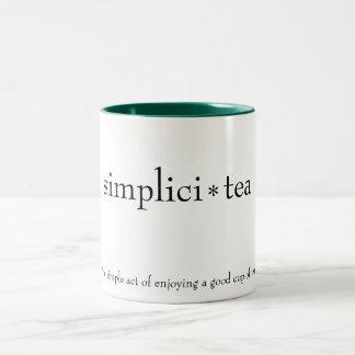 """taza del """"simplici-té"""""""