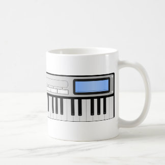 Taza del sintetizador de la música de Digitaces