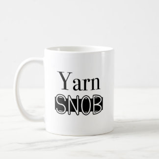 Taza del snob del hilado