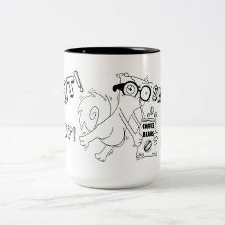 Taza del Snort del café de Pilz-E