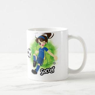 taza del soccergirl