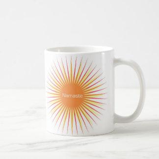 taza del sol del namaste