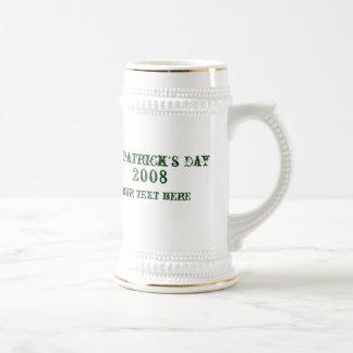 Taza del St Patty modificada para requisitos parti