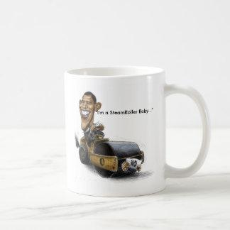 Taza del Steamroller de Obama