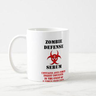Taza del suero de la defensa del zombi