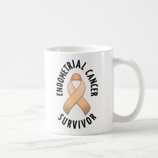 Taza del superviviente del cáncer endometrial